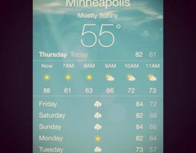 The next few days of weather! #jc2014