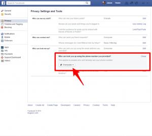 facebook phone privacy 3