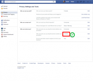 facebook phone privacy 6